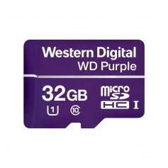 Carte MicroSD Western Digital Purple 32GB spéciale vidéosurveillance
