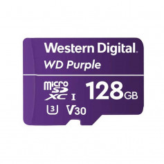 Carte MicroSD Western Digital Purple 128GB spéciale vidéosurveillance