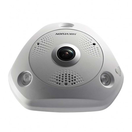 Caméra IP HIKVISION DS-2CD63C2F-IVS Fisheye 360° Full HD 12MP PoE