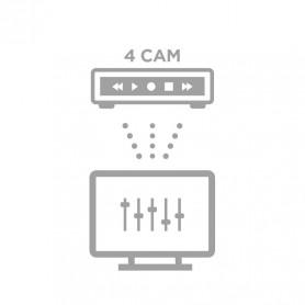 Configuration à distance NVR 4 caméras