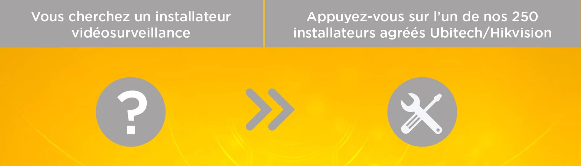 Installateurs pour votre vidéosurveillance IP
