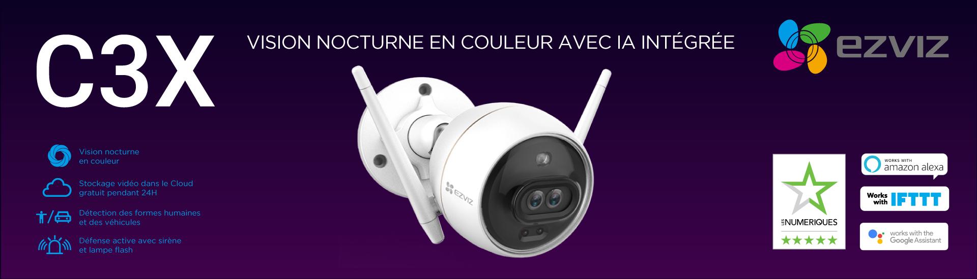 Caméra WiFi EZVIZ C3X